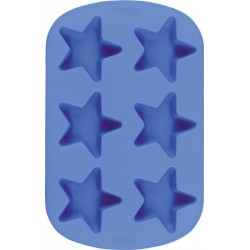 Stjärnor, portionsbakform (silikon)