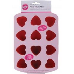 Mini Hearts, bakform (silikon)
