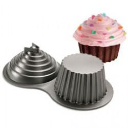 Dimensions Giant Cupcake Pan, bakform