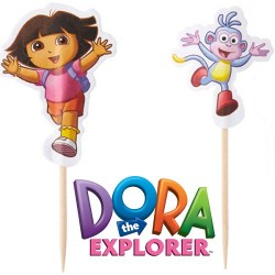 Dora the Explorer, muffinsflaggor