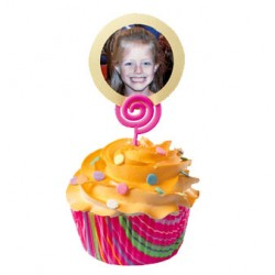 Add-A-Message, 12 st cupcake-picks