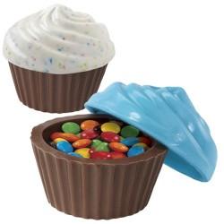 Cupcake-ask, chokladform