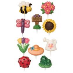Garden Goodies, klubbformar
