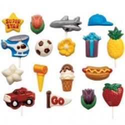 Chokladformar, 10 olika