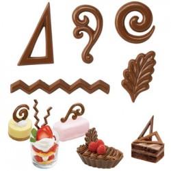 Dessert Accents, chokladform