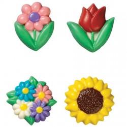 Vårblommor, chokladform