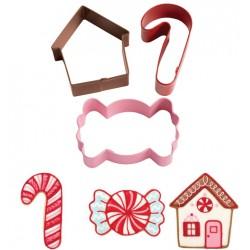Christmas Sweets, 3 st utstickare