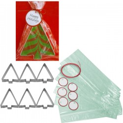 Holiday Gift Cutter Set, julgranar
