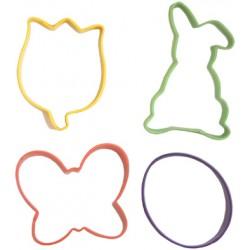 Bright Easter, 4 st utstickare