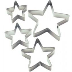 Stjärnor, 4 st utstickare