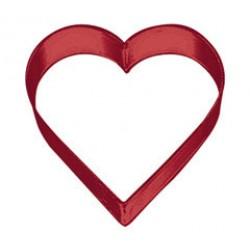 Hjärta, röd kakform