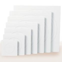 Fyrkantig separatorplatta med slät kant, 40 cm