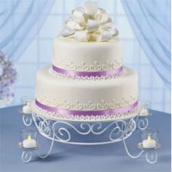 Candlelight, tårtställning