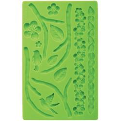 Körsbärsblom, silikonform