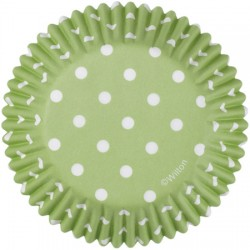 Green Polka Dots, 75 st