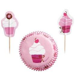 Pink Cupcake, muffinspaket