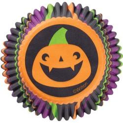 Scarey Pumpkin, 75 st muffinsformar