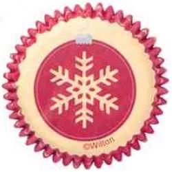 Snöflinga, 100 st små muffinsformar