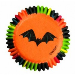 Bat Stripes, 100 st små muffinsformar
