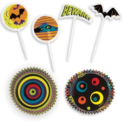 Halloween Party, presentförpackning (muffins)