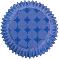 Blue dots, 36 st folieformar