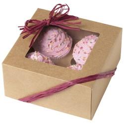 Cupcake ask, 3 st (naturfärgade)