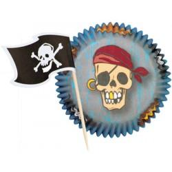 Pirat, muffins-paket