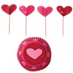My Valentine, muffinspaket