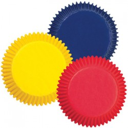 Primary Colors, 100 st små muffinsformar
