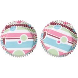 Bubble Stripes, 100 st små