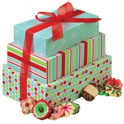 Holiday, Cookie Gift Box Kit