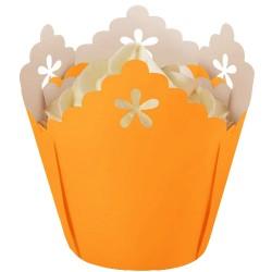 Golden Yellow Flower, 15 st muffinsformar