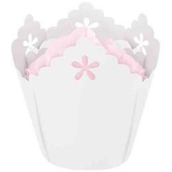 White Flower, 15 st muffinsformar