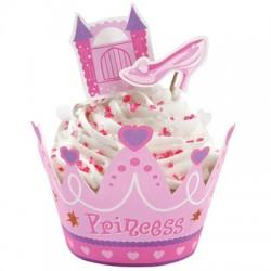 Prinsessa, cupcake wraps