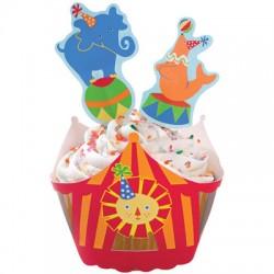 Zoo, cupcake wraps