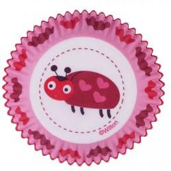 Love Bug, 75 st muffinsformar