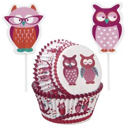Heartly Owls, muffinspaket