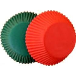 Röda och gröna, 75 st muffinsformar