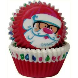 Santa Claus, 100 st små muffinsformar
