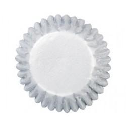 Silver, 72 st små muffinsformar