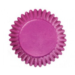 Rosa, 75 st små muffinsformar