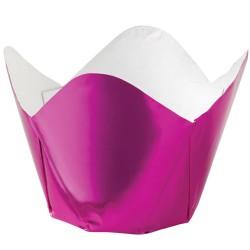Pink Metallic, 15 st muffinskoppar