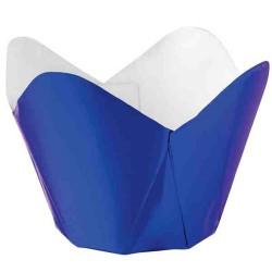 Muffinskoppar, Blue Metallic (15 st)