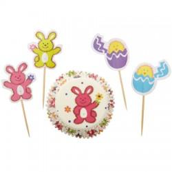 Fuzzy Bunny, muffins-paket