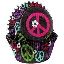 Peace and Love, 75 st muffinsformar