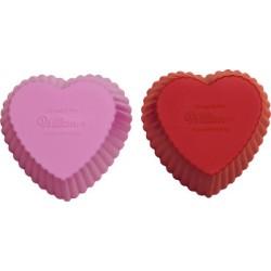 Muffinsformar (silikon), 12 st hjärta
