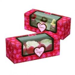 Romance, 3 st cupcake askar