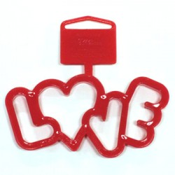 LOVE, utstickare (Wilton)
