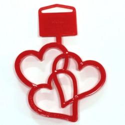 Tre hjärtan, utstickare