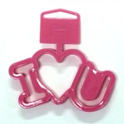 I love U, utstickare
